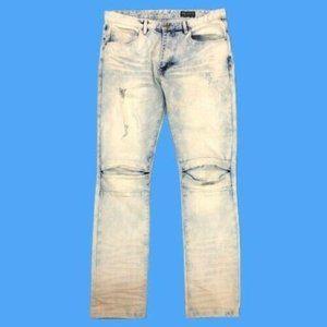 Vintage Smoke Rise stonewash distressed jeans